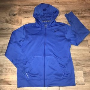 Nike therma fit hooded jacket large